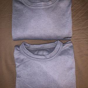 Patagonia Lot of 2 Men's Capilene Shirt
